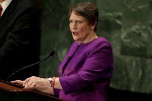 Helen Clark of New Zealand
