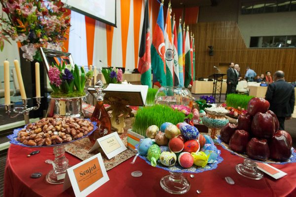 Special Event on the occasion of the International Day of Nowruz(21 March)(General Assembly resolution 64/253), co-organized by the Permanent Missions of Afghanistan, Azerbaijan, India, Iraq, the Islamic Republic of Iran, Kazakhstan, Kyrgyzstan, Pakistan, Tajikistan, Turkey, Turkmenistan and Uzbekistan)