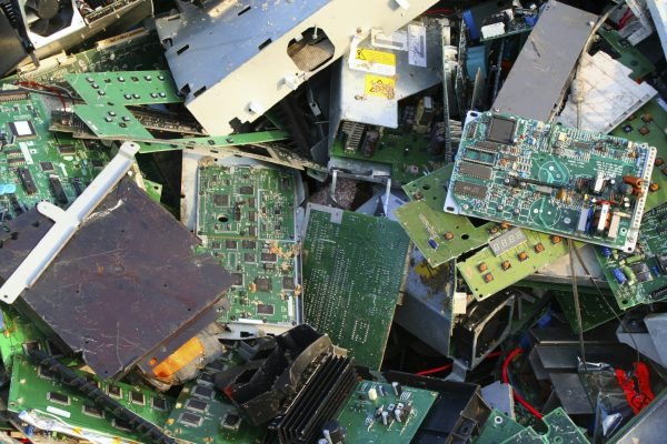Jordan_env_jo_ewaste_enormous amounts of electronic products are disposed of every year, posing human health threats from unsafe handling of the e-waste