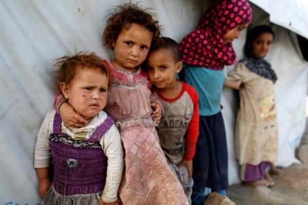 Yemen refugees (Reuters)